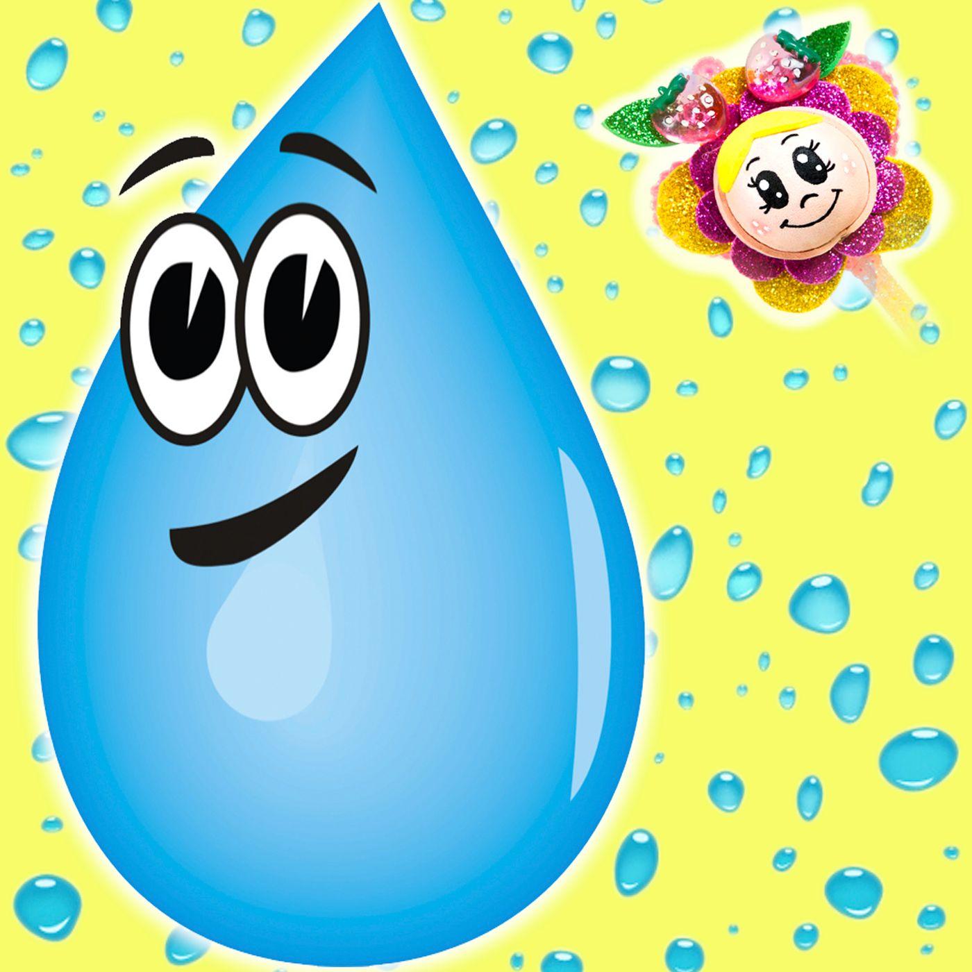 24. Clara, la gota de agua. Cuento infantil del Hada de Fresa. Aventuras de una gotita de agua