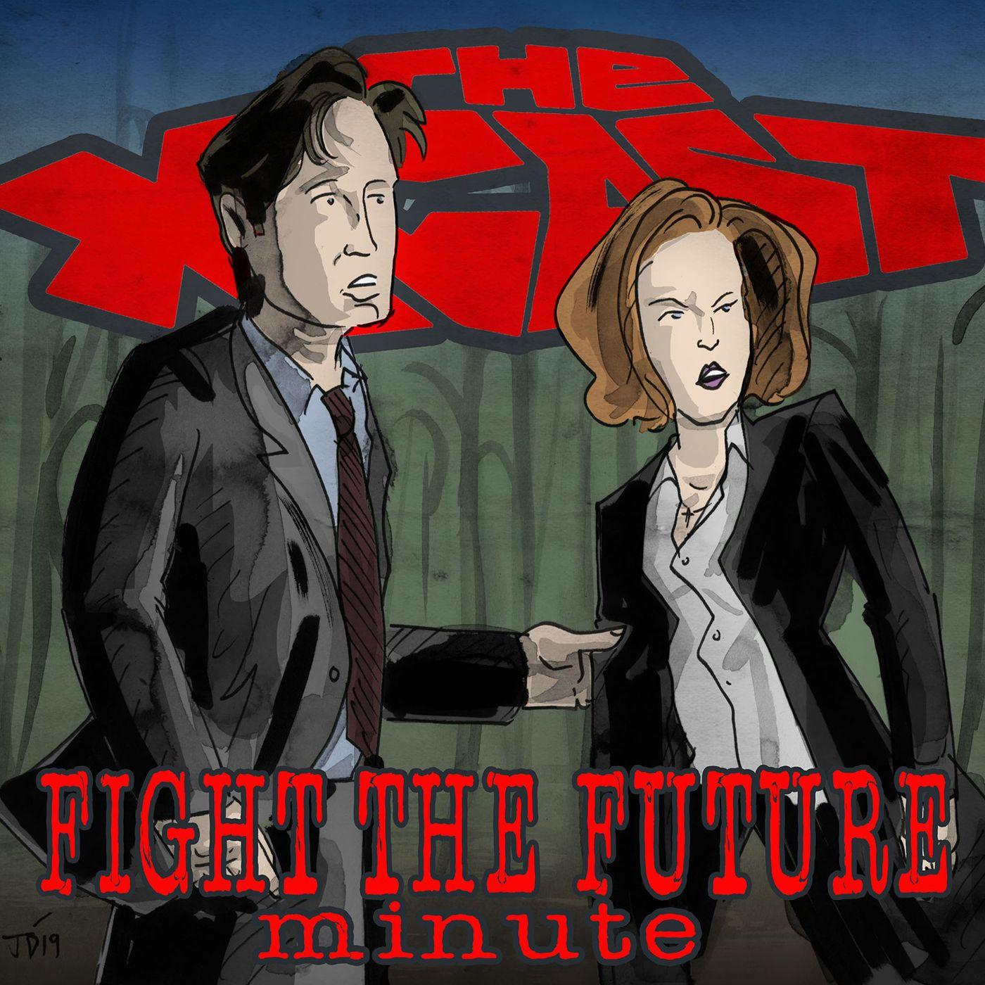 437. Fight the Future Minute #57: Door to Door Salesmen