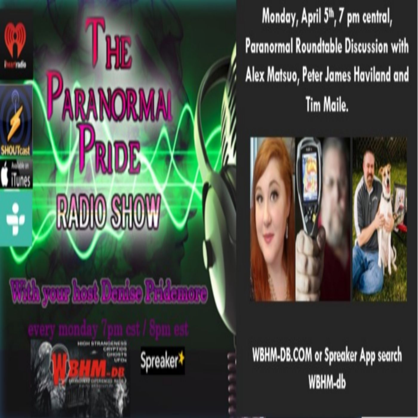 Paranormal Roundtable Two 4.5.2021