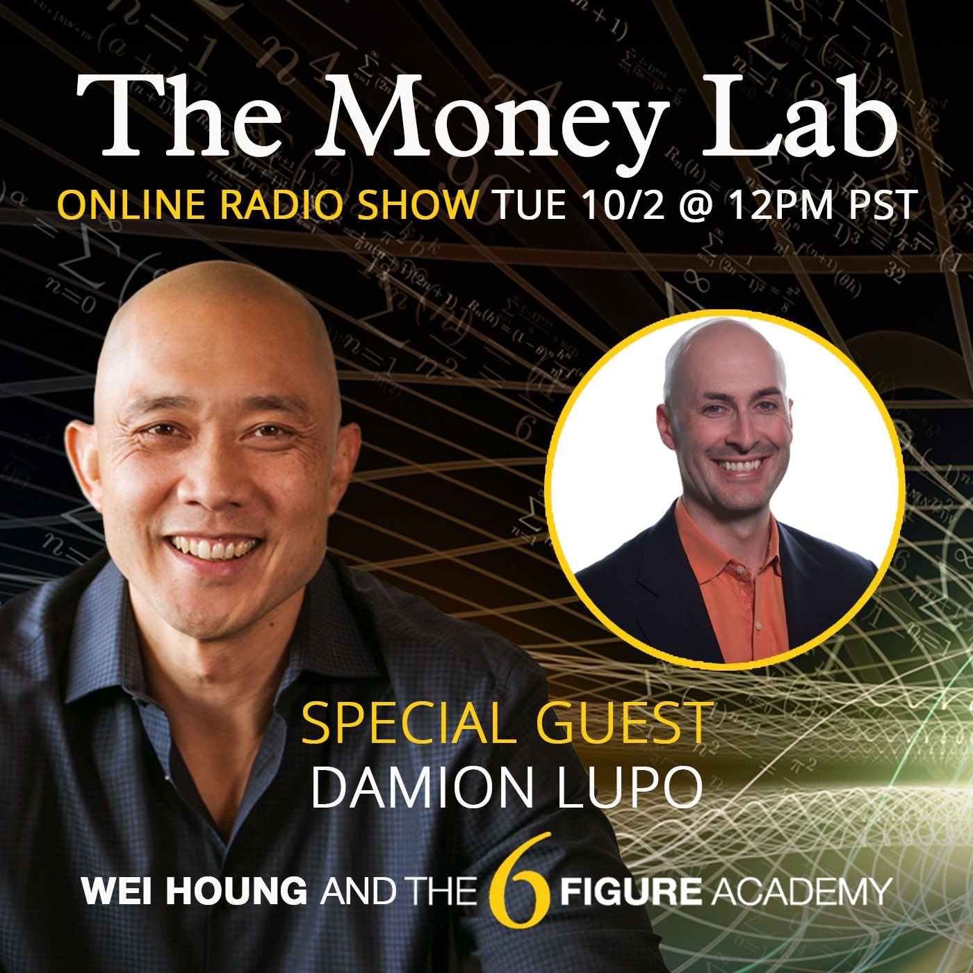 """Episode #83 - The """"Losing Everything To Ego, Greed, and Speed"""" Money Story with guest Damion Lupo"""