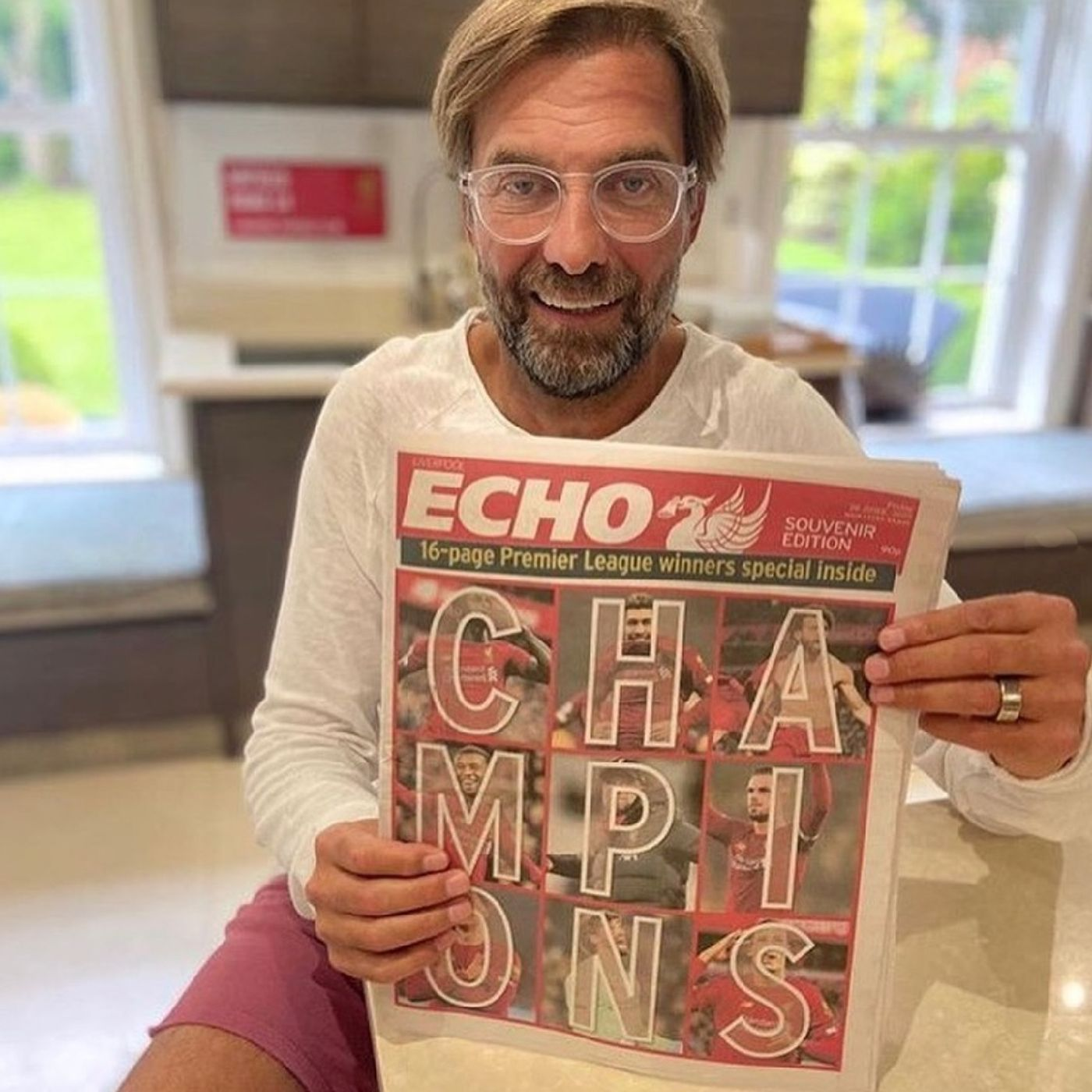 Blood Red: Jurgen Klopp's open letter to Liverpool supporters after Premier League title win | Man City await at the Etihad