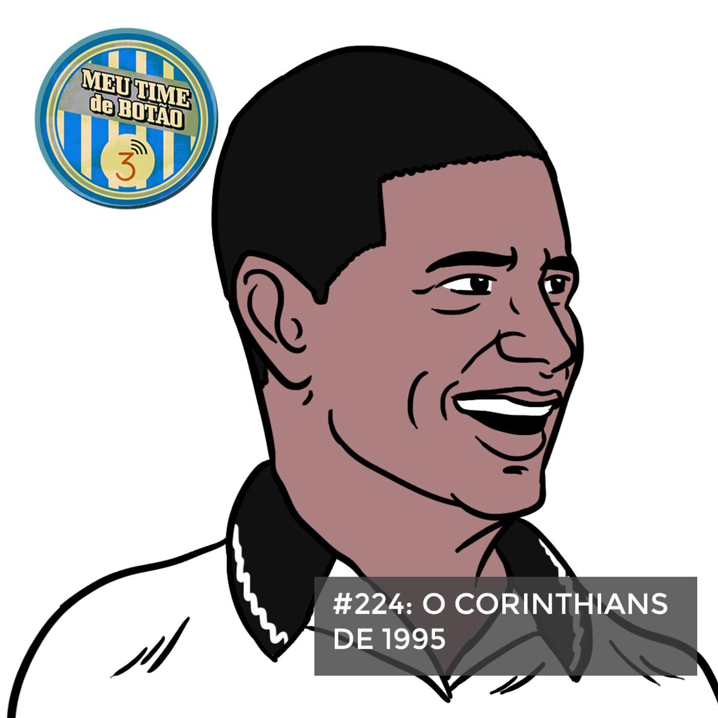 Botão #224 O Corinthians de 1995