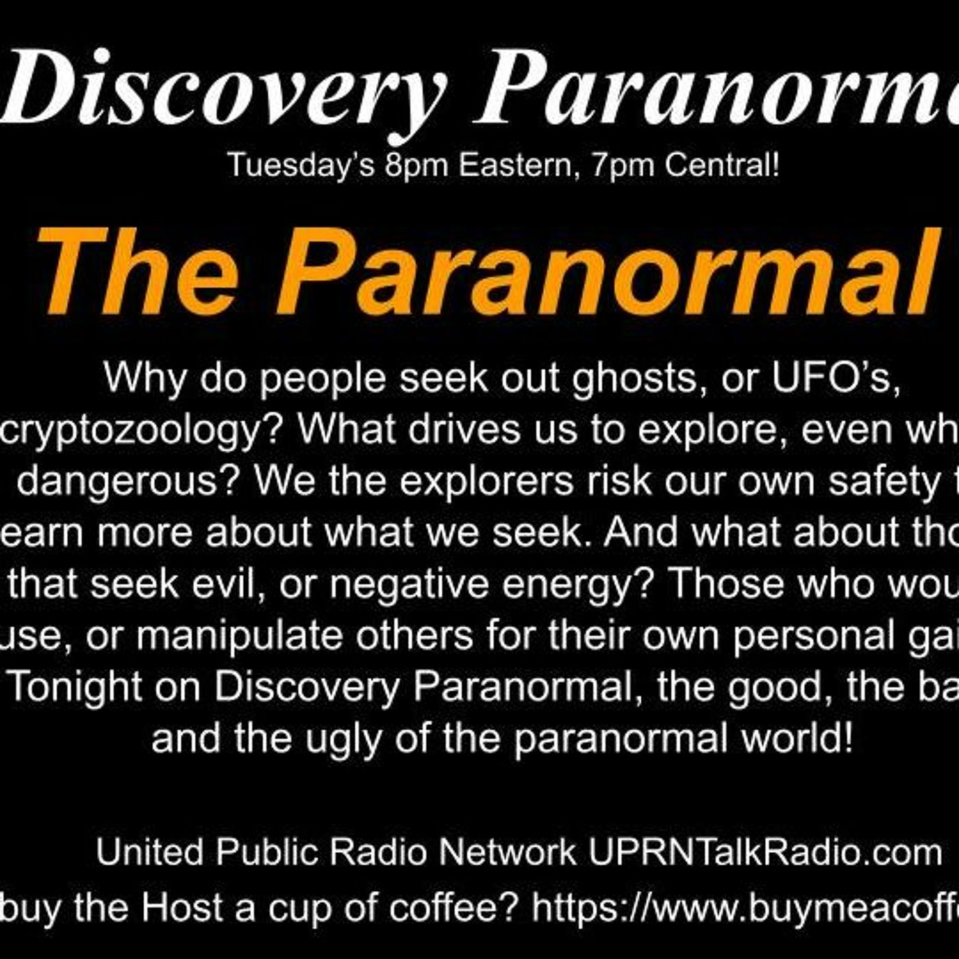 Discovery Paranormal w/ Michael Angley 09 21 2021