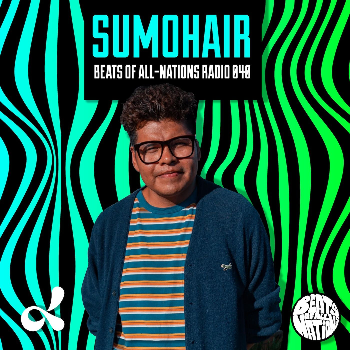 Sumohair | Beats of All-Nations Radio 040 live at Dublab