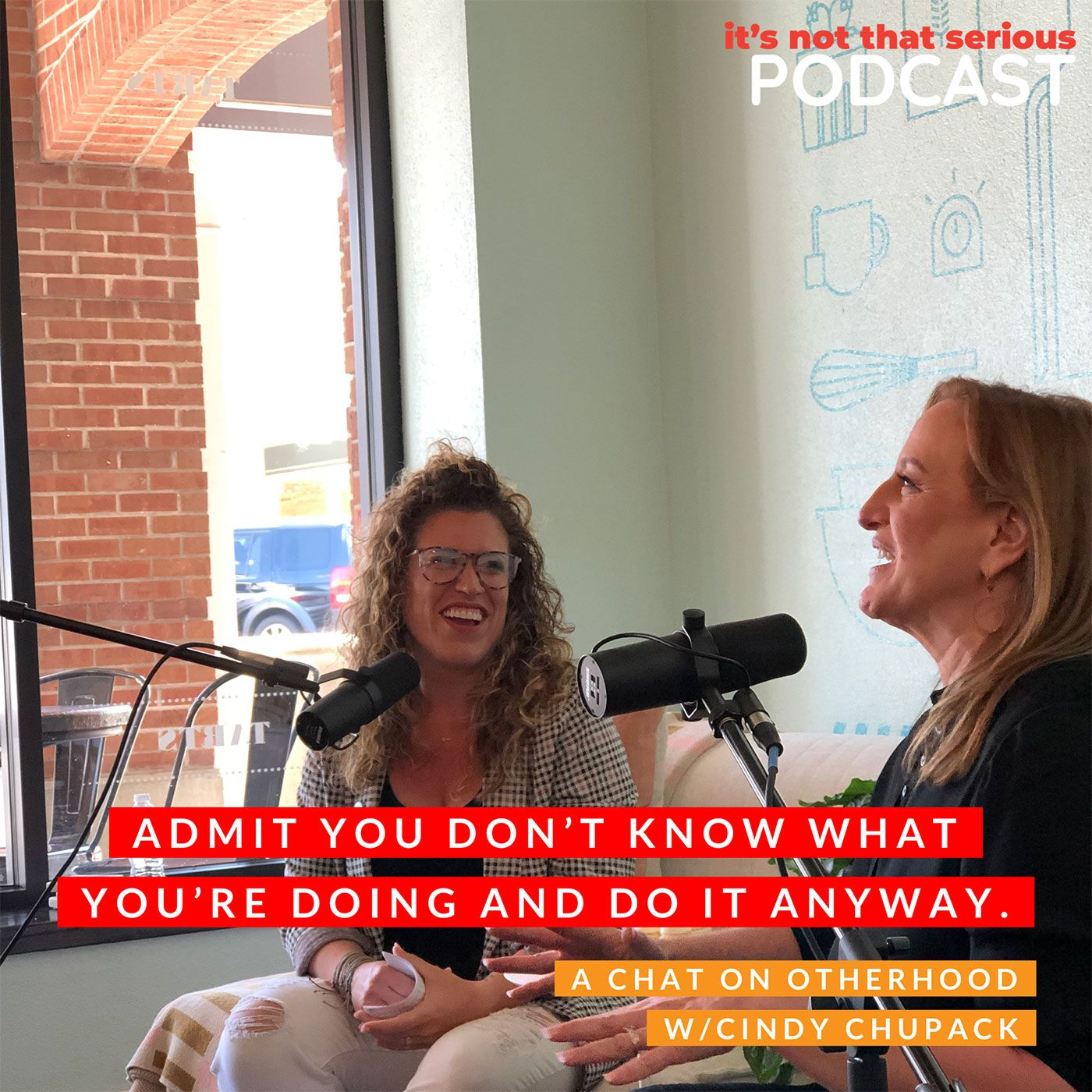 S2E5: Admit You Don't Know What You're Doing and Do It Anyway. A chat on Otherhood with Cindy Chupack