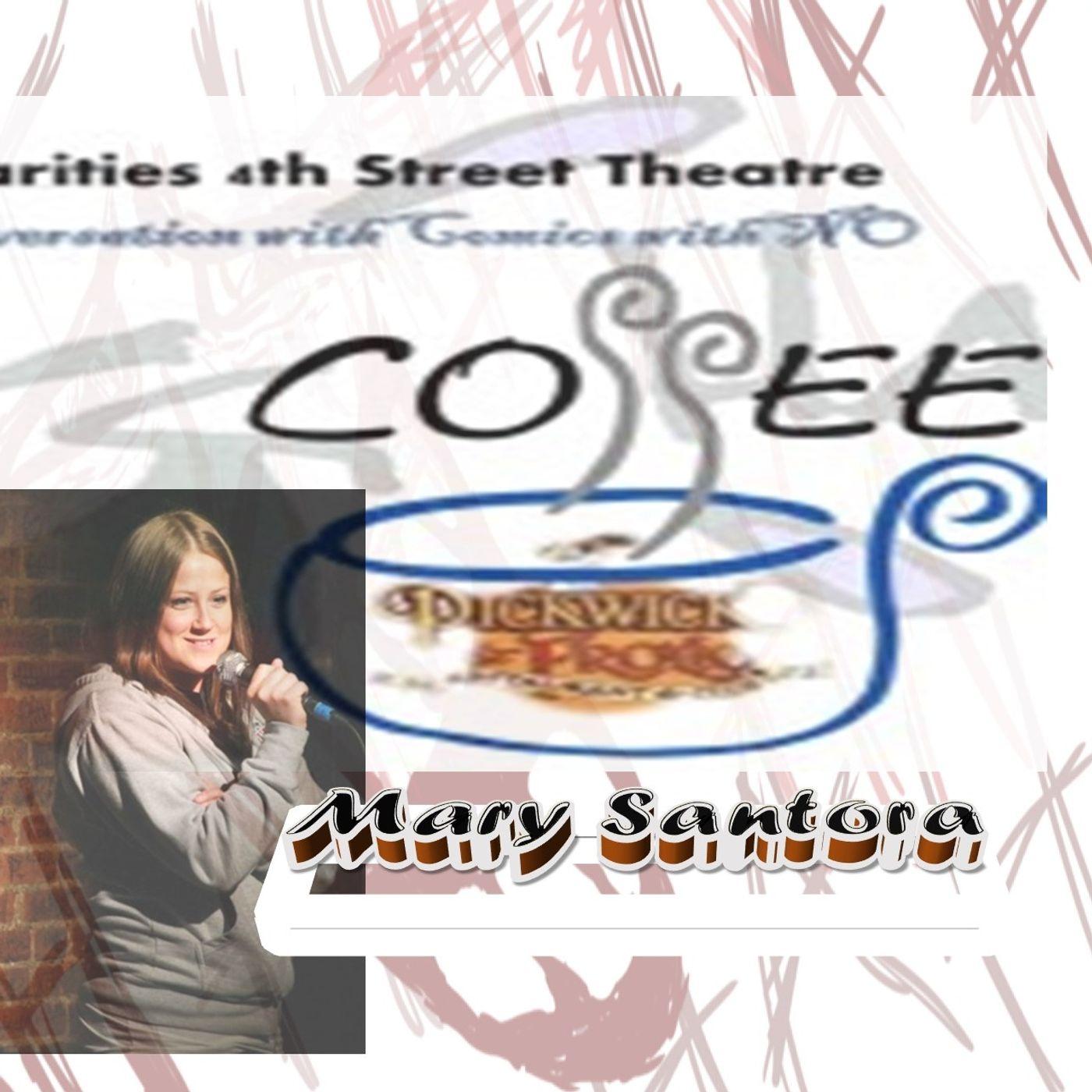 Mary Santora Conversation with Comics with No Coffee 7_12_19