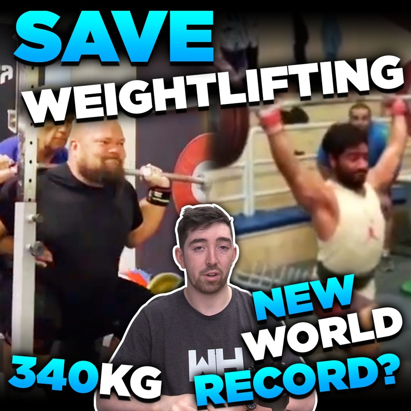 New 208kg Unofficial WORLD RECORD by... | WL News