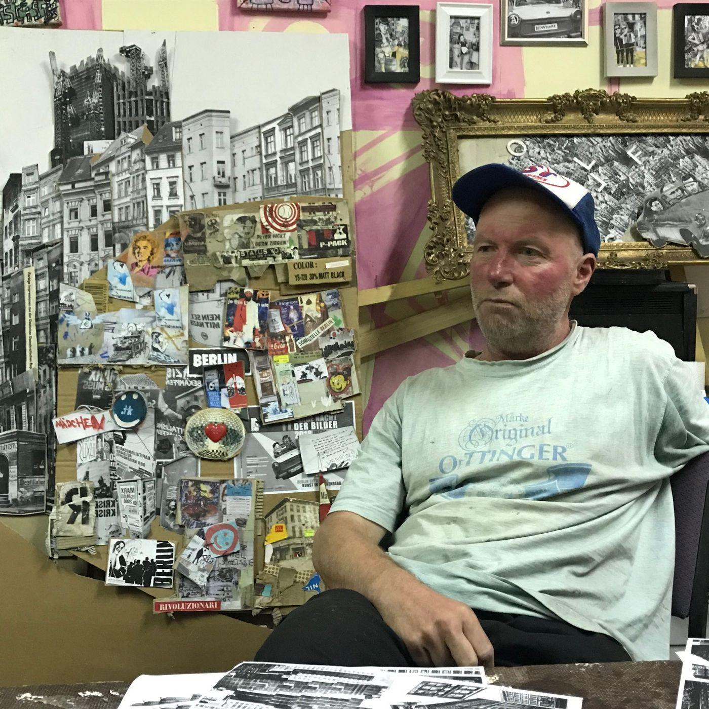Stammtisch met kunstenaar Tim Roeloffs
