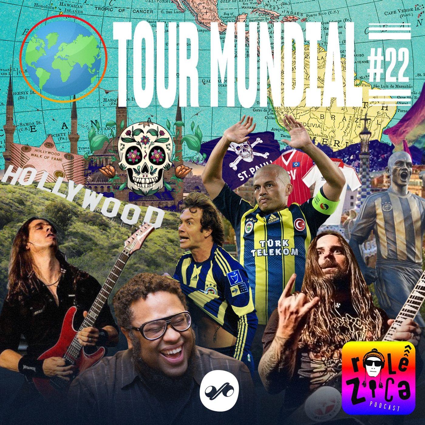 Rolê Zica: tour mundial sem sair do lugar
