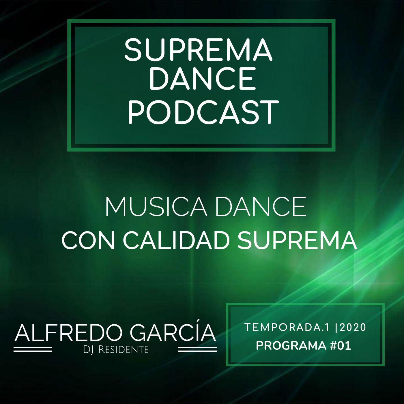 DJ Residente Alfredo García | Programa-1 | T.1 | SDP