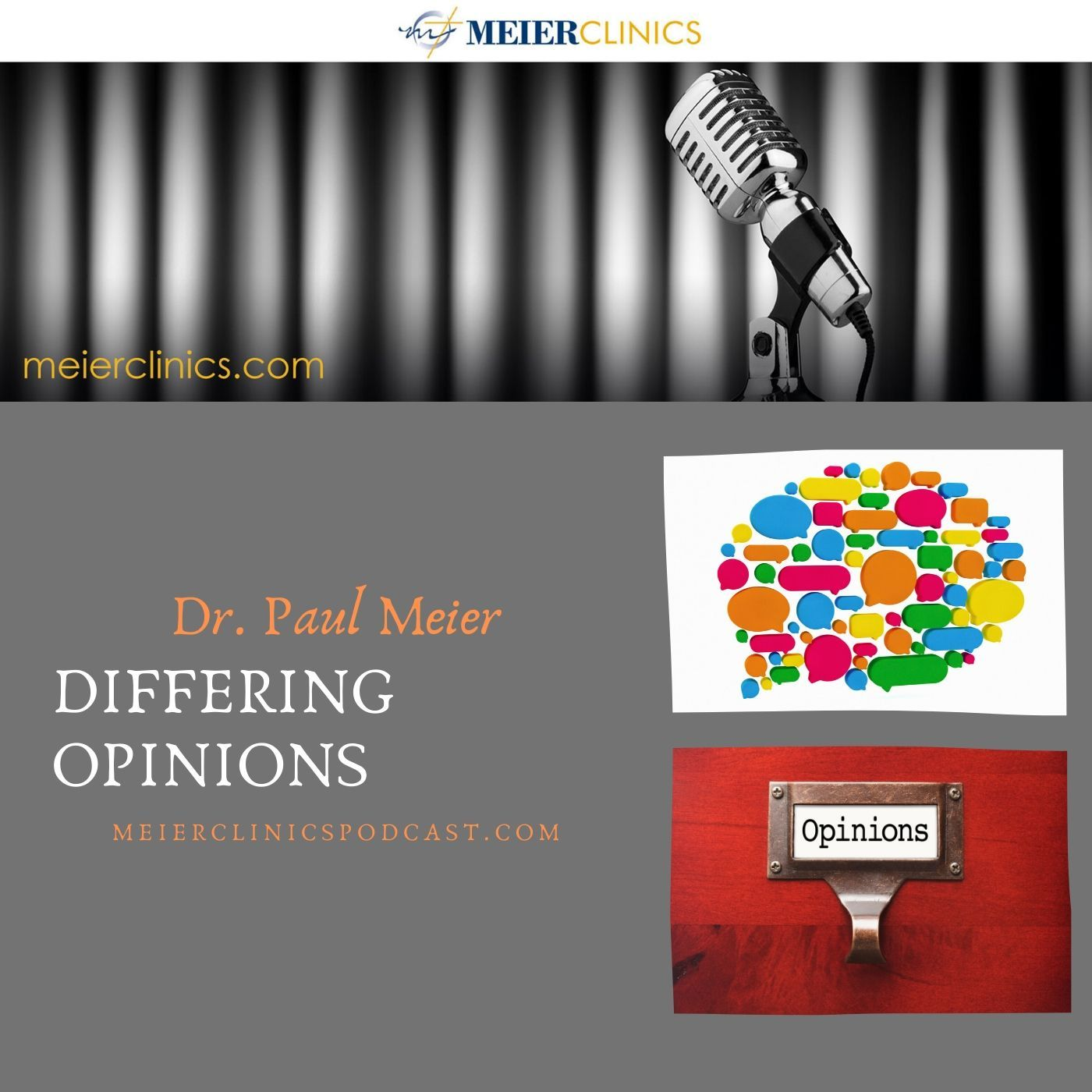 Differing Opinions with Dr. Paul Meier