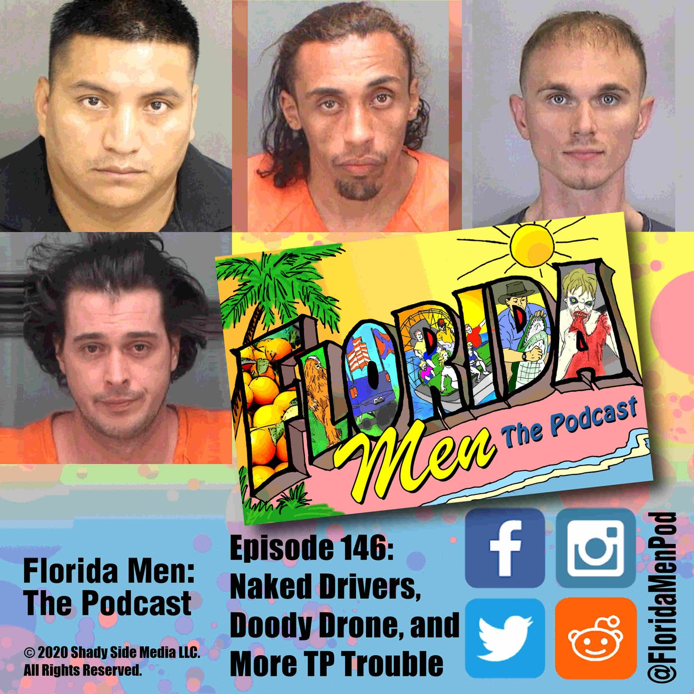 146 - Naked Drivers, Doody Drone, and More TP Trouble