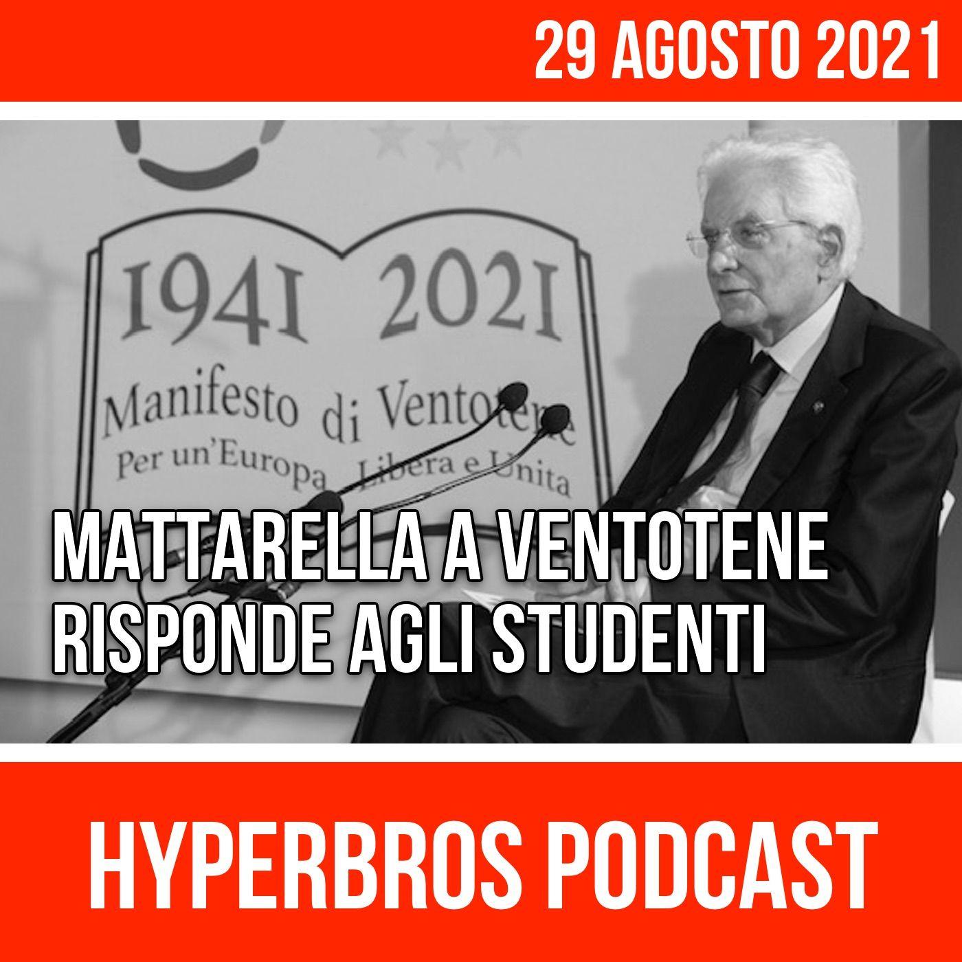 Sergio Mattarella a Ventotene risponde agli studenti
