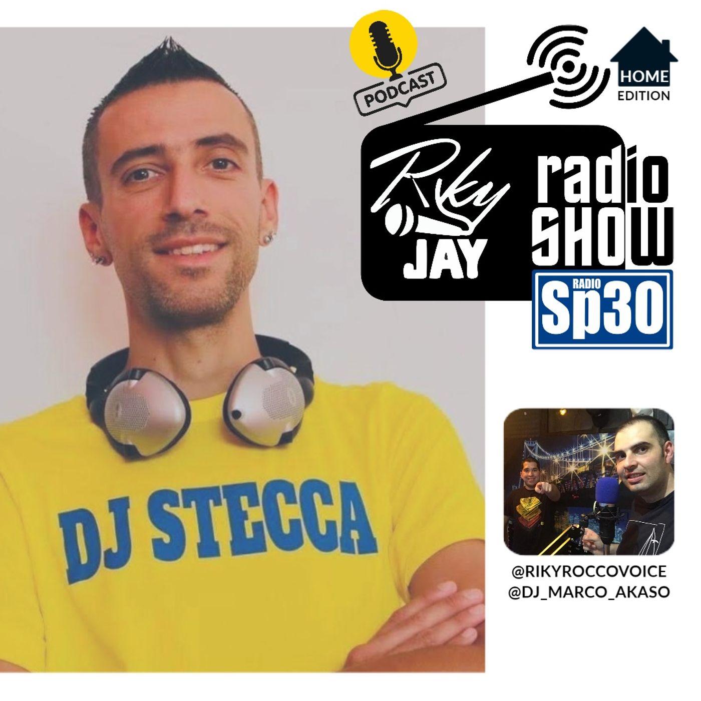 RikyJay Radio Show - #31 - Home Edition - Ospite Dj Stecca