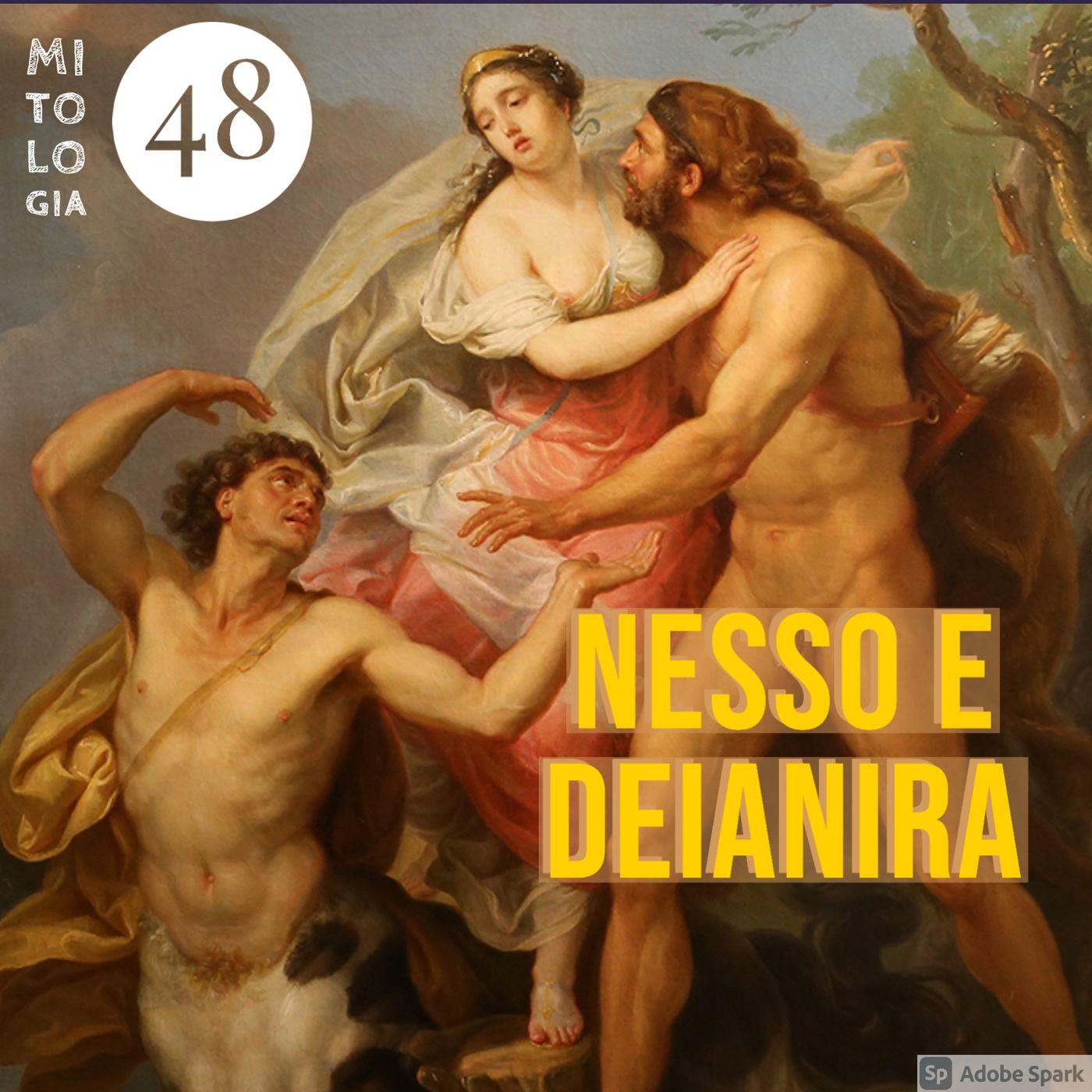 La morte di Nesso e la gelosia di Deianira