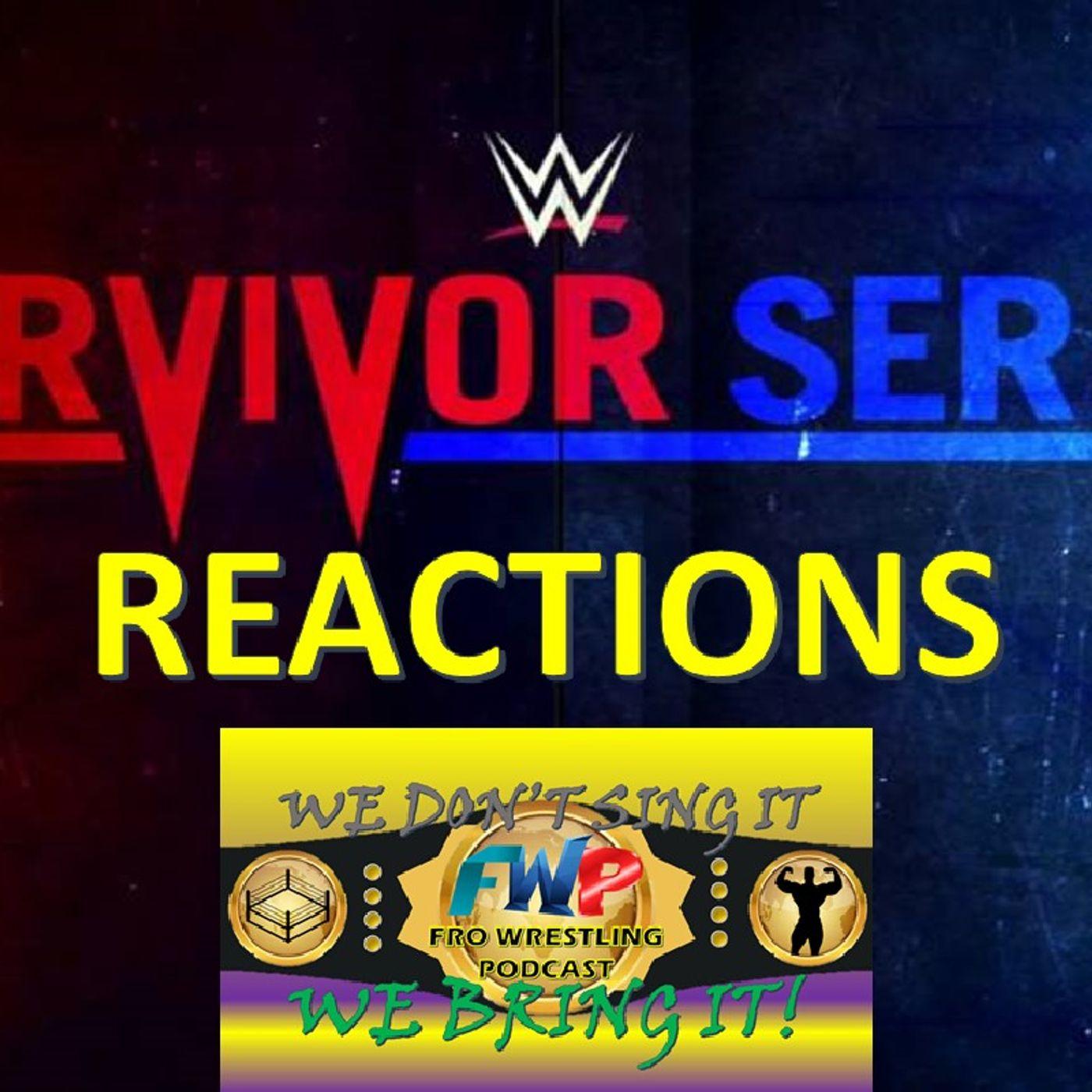 Survivor Series Reactions
