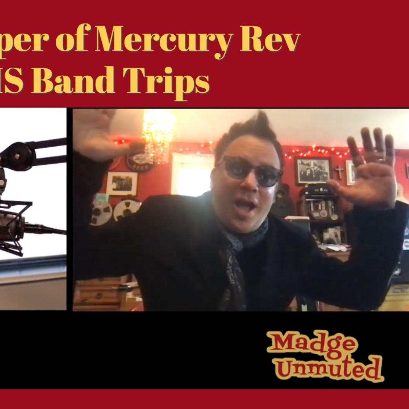 Grasshopper (Sean Mackowiak) of Mercury Rev on Delinquent HS Band Trips