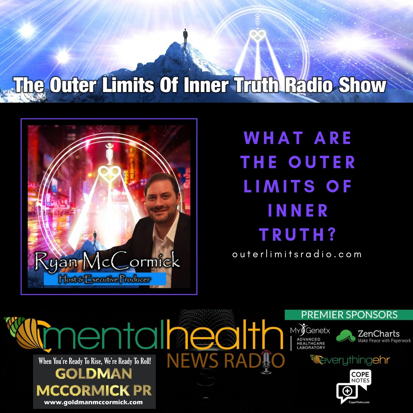 Mental Health News Radio - Outer Limits of Inner Truth with Ryan McCormick