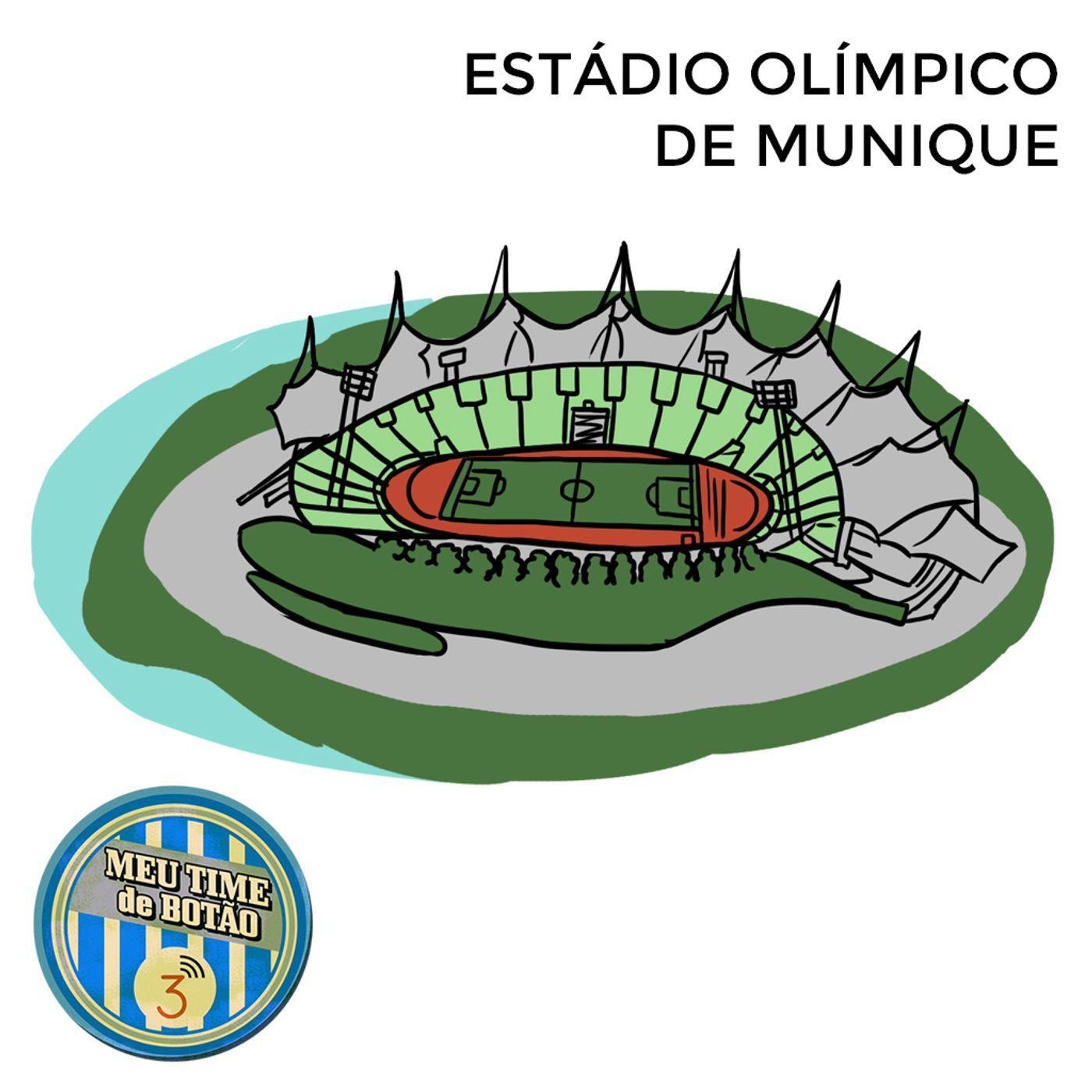 Botão #232 Estádio Olímpico de Munique