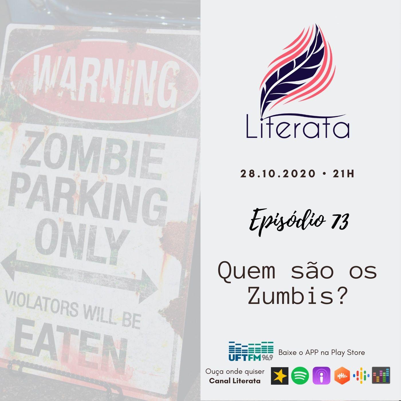 #073 - Outubro Dark Literata - Zumbis
