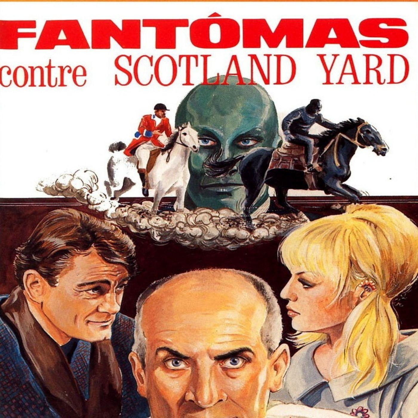 Louis De Funès et Fantômas contre Scotland Yard