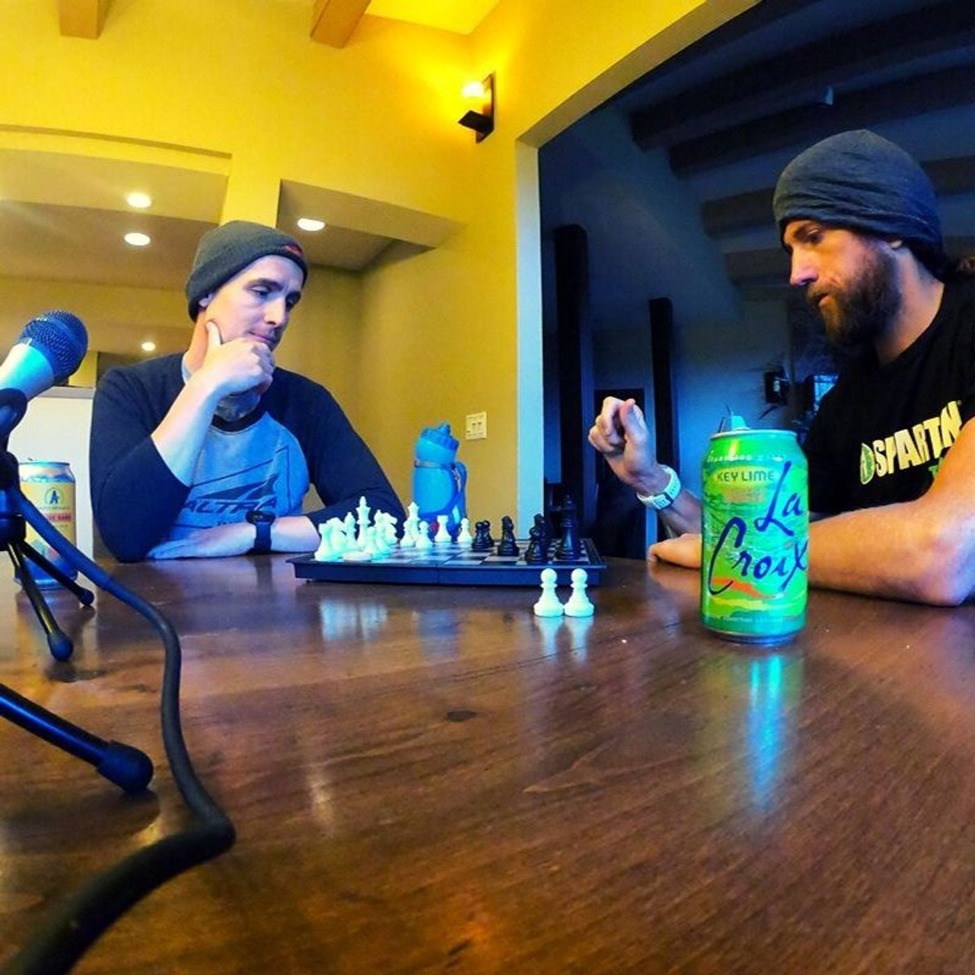 AOF:233 Mike Wardian and Ian Sharman play chess, talk Spartan and tackling every challenge.