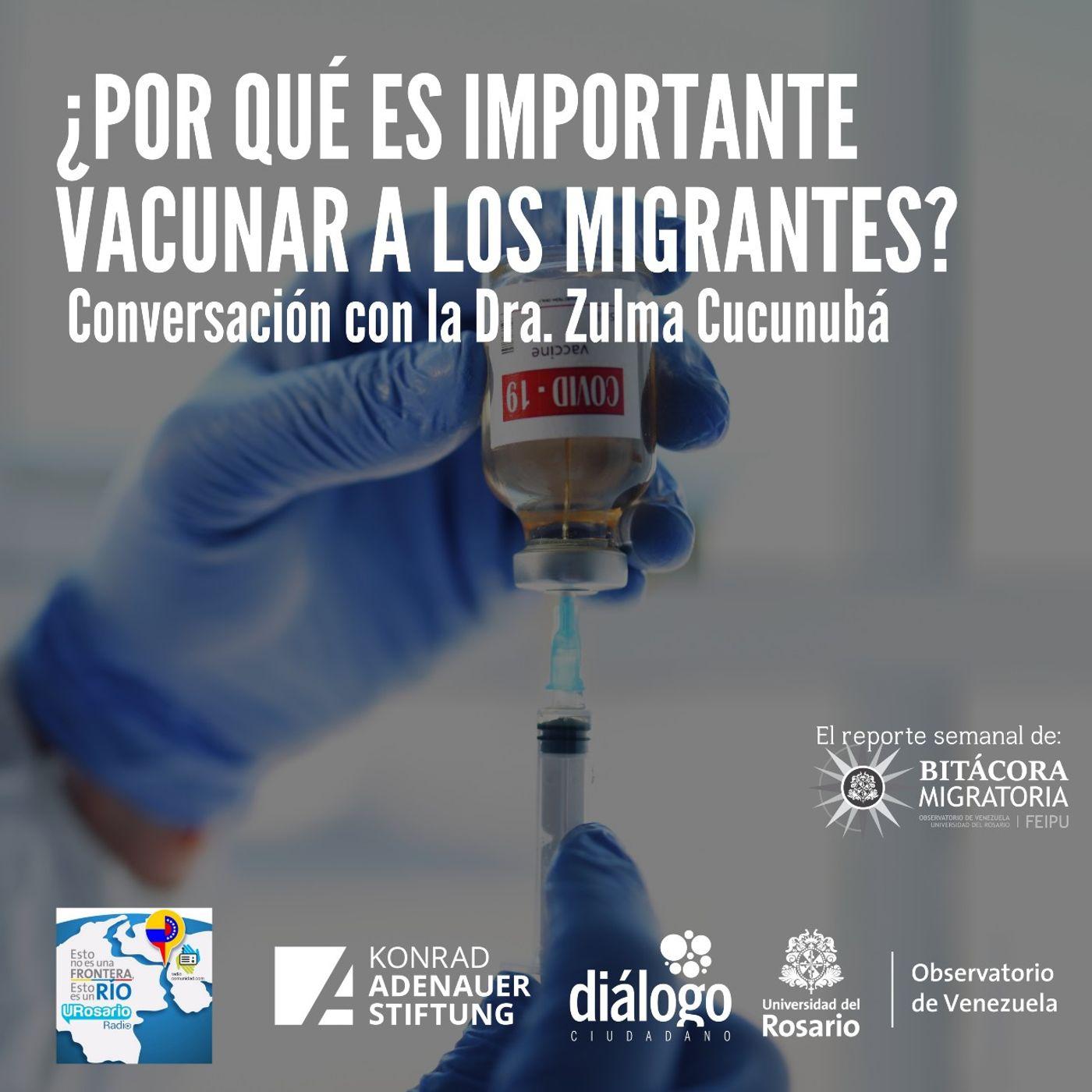 ¿Por qué es importante vacunar a los migrantes?