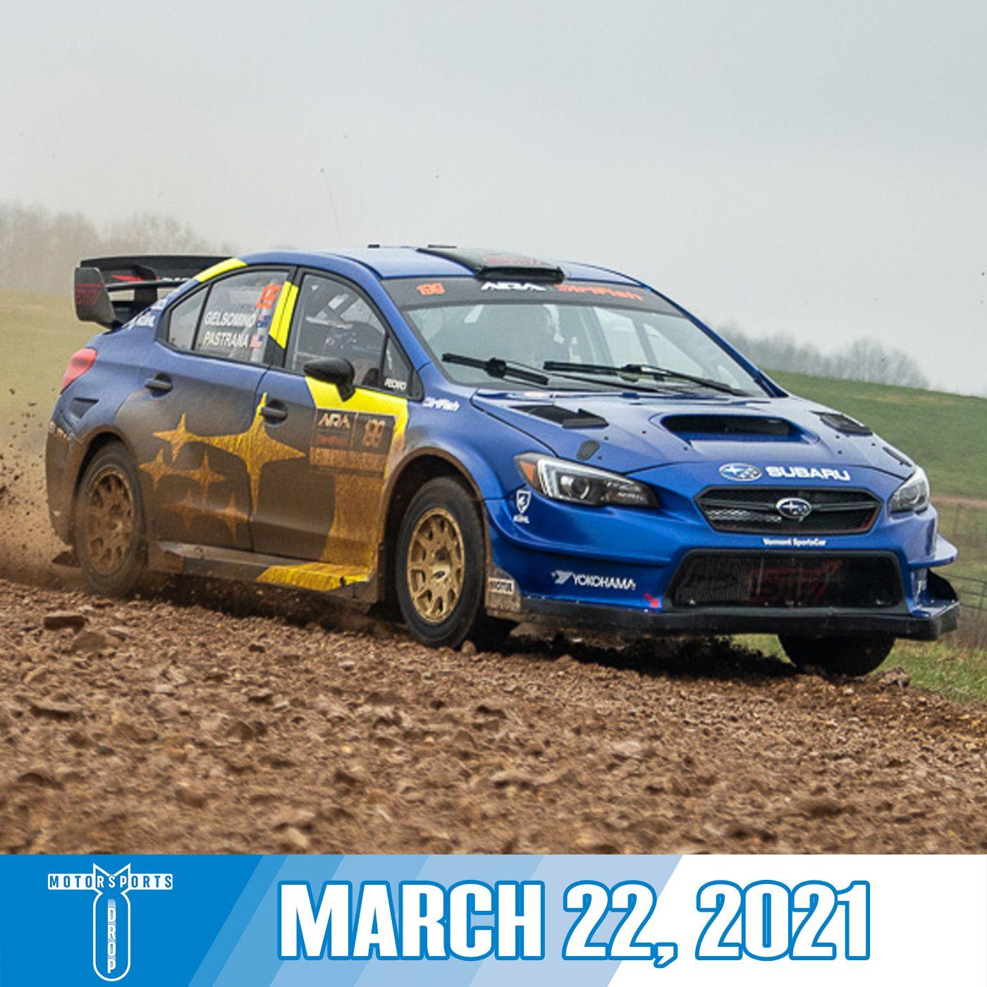 Motorsports Drop: March 22, 2021