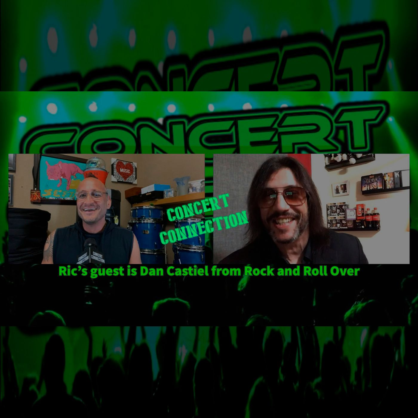 TCC Mar 31 2021 Ric's guest is Dan Castiel from Rock and Roll Over, one of the top 4 KISS tributes in the World according to KISS in 2012