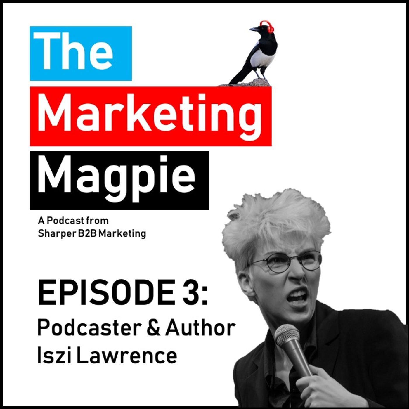 The Marketing Magpie - Episode 3 - Podcaster and Author Iszi Lawrence