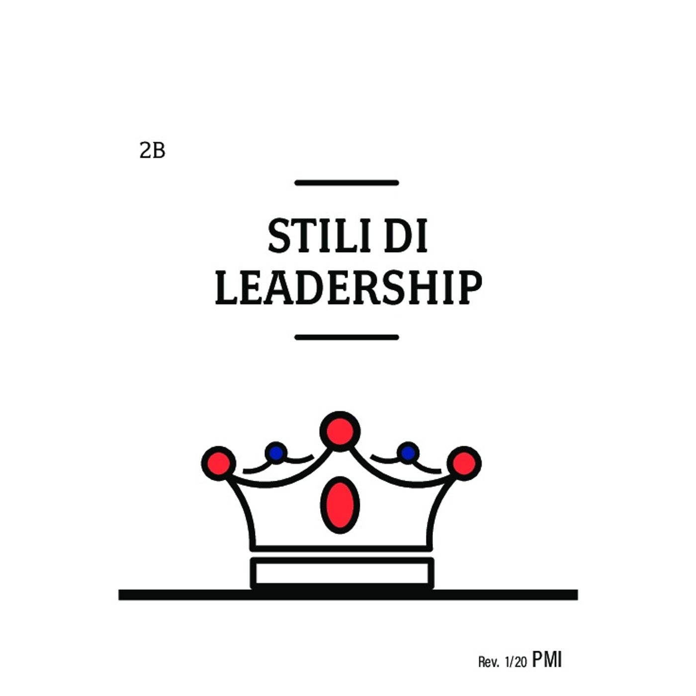 AL • Your Change Canvas • Carta 2B - Gli stili di leadership