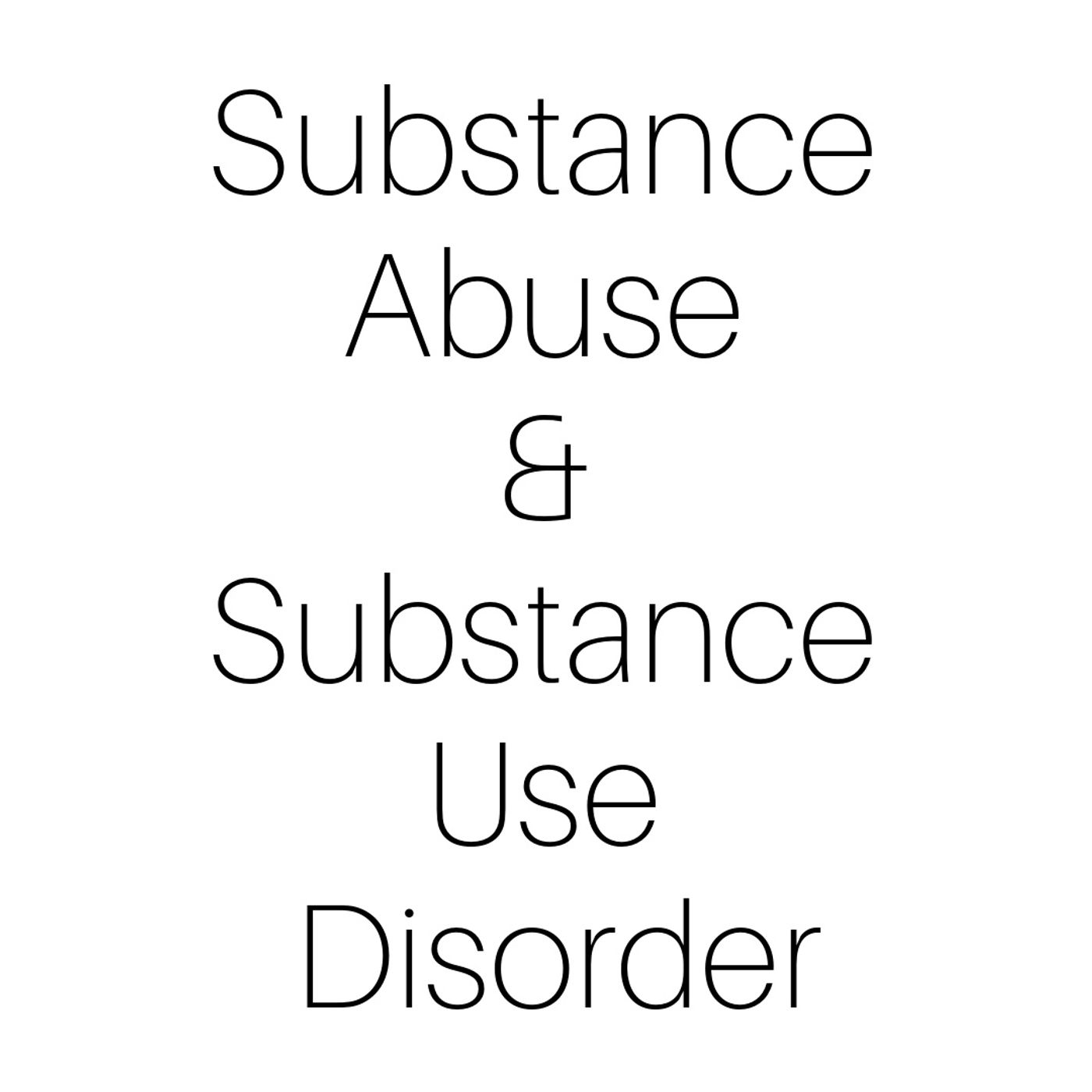 🎉 IG/FB Live: Substance Abuse & Substance Use Disorder New Podcast