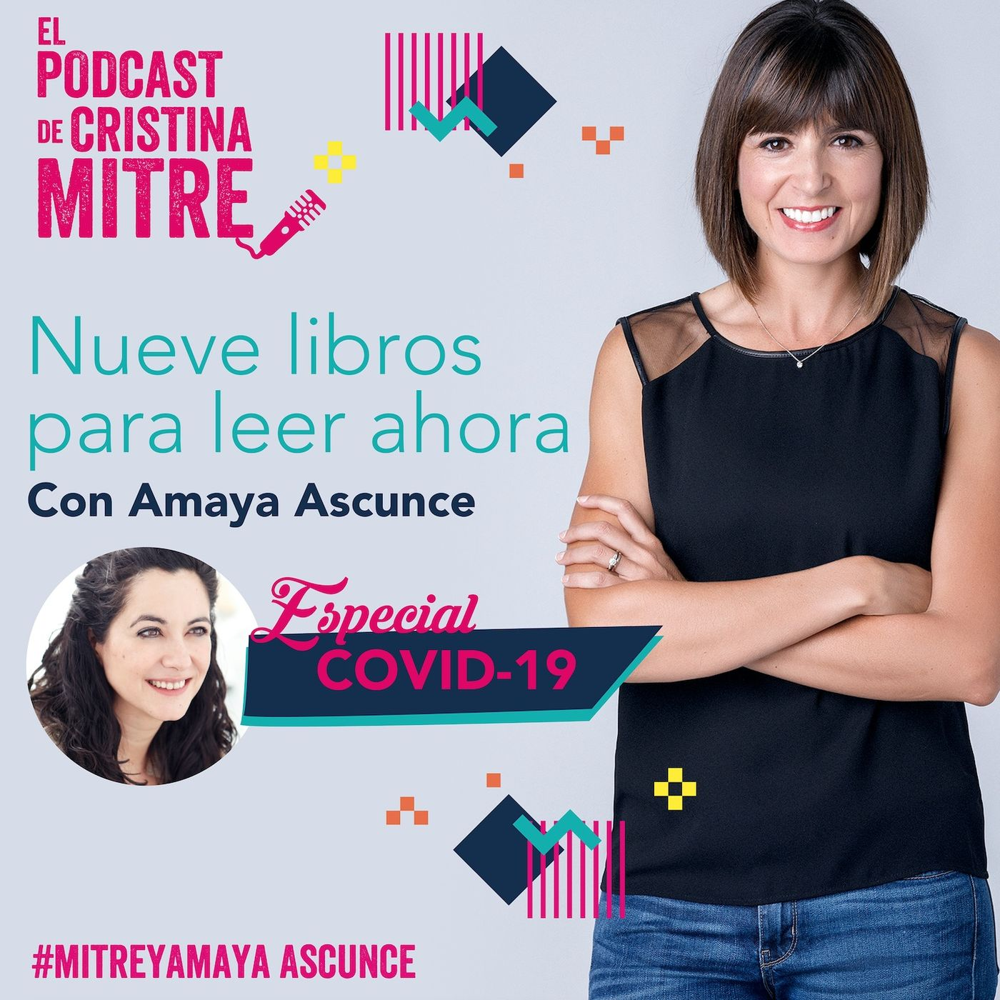 Nueve libros para leer ahora con Amaya Ascunce. Especial COVID-19