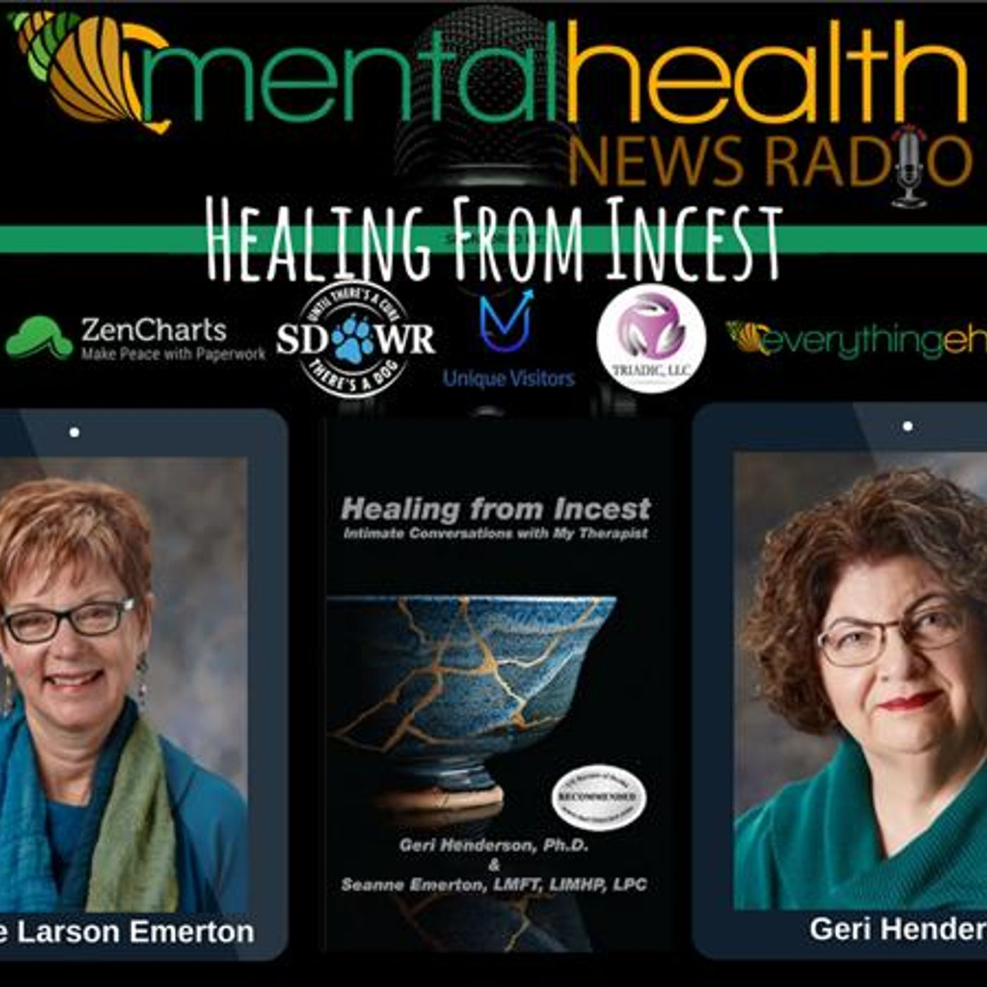 Mental Health News Radio - Healing from Incest: Intimate Conversations with My Therapist