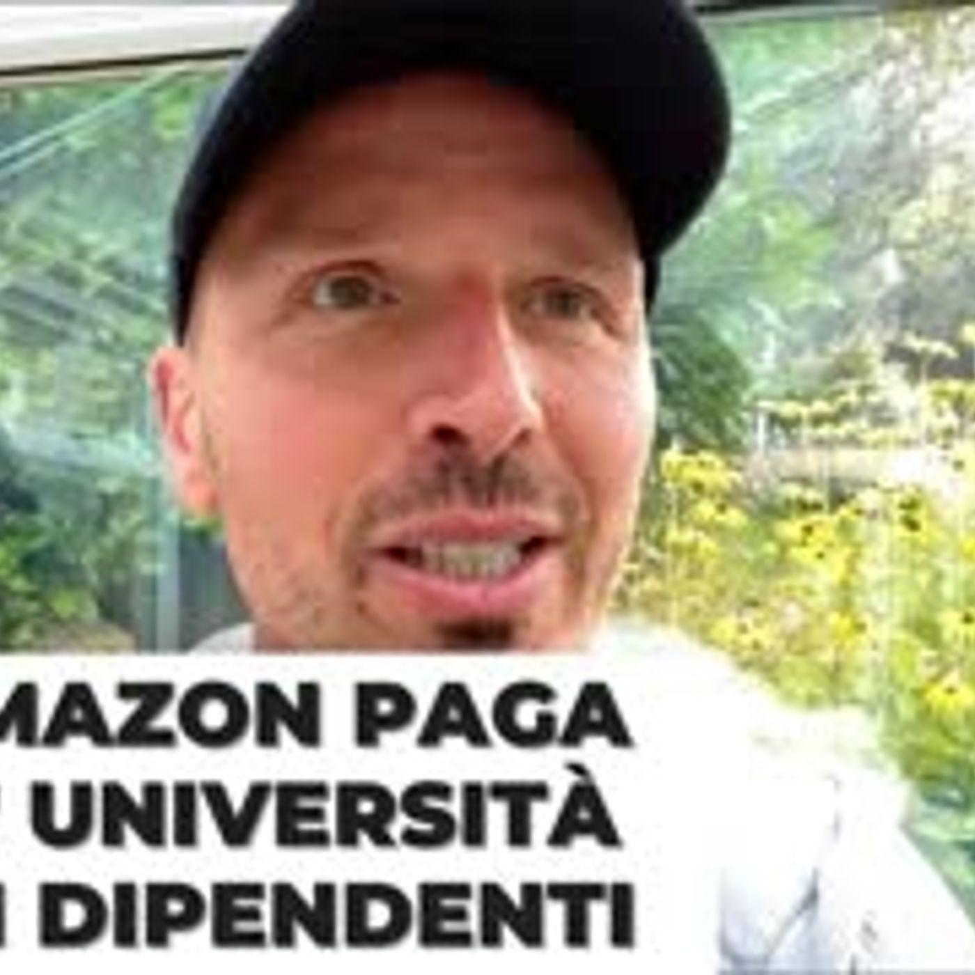 Amazon paga l'università ai dipendenti (mentre assume altre 125.000 persone)