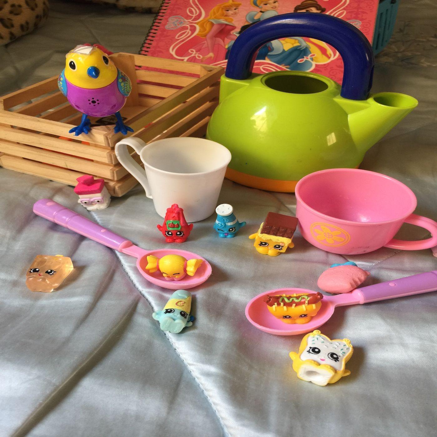 Tomando el té con Rebeca