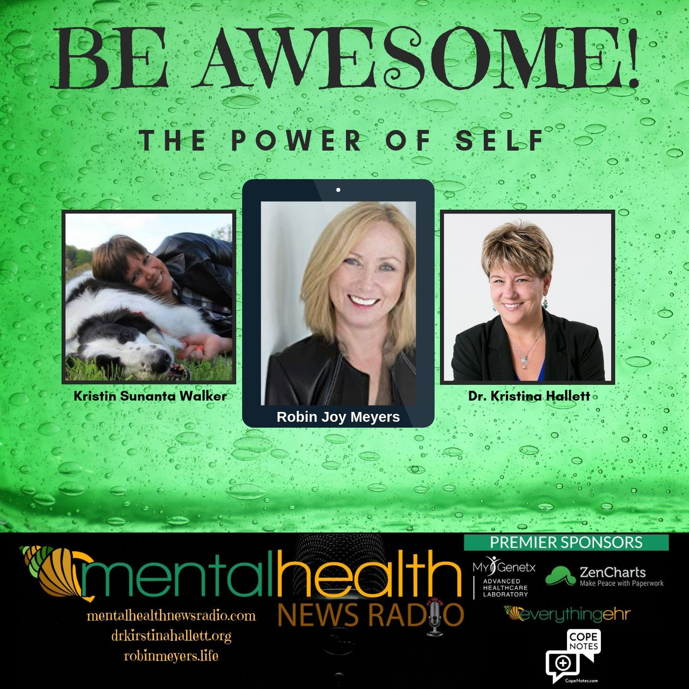 Mental Health News Radio - Be Awesome: The Power of Self with Robin Joy Meyers