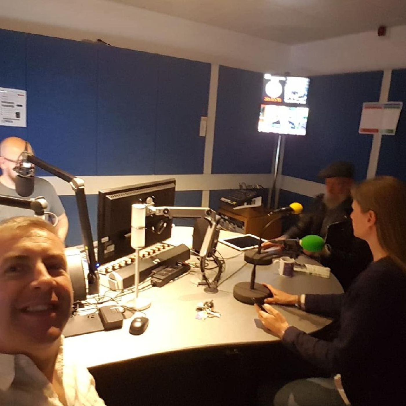 Discussing Allergies And Free From Foods On BBC Radio Shropshire Ahead Of The 1st Ever Shropshire Frestival