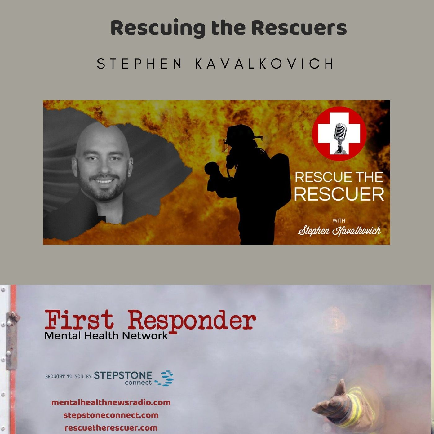 Mental Health News Radio - Rescuing the Rescuers