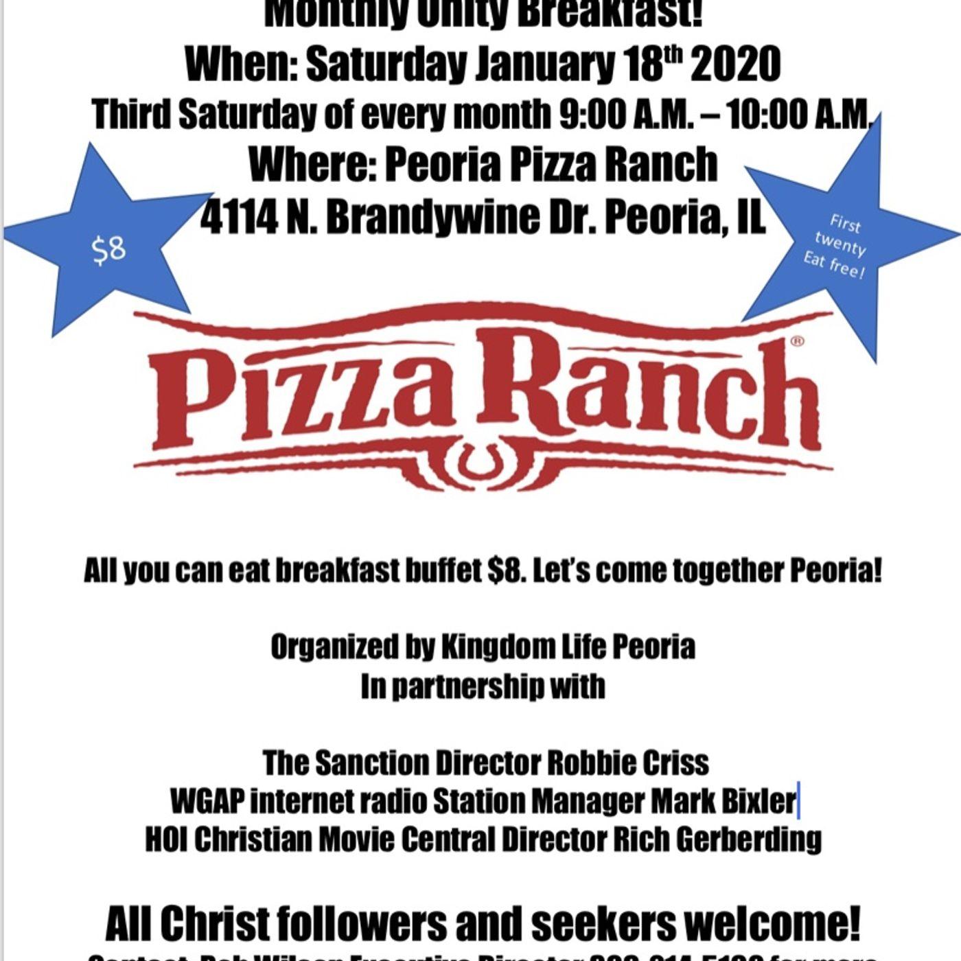 Episode - Kingdom Unity Breakfast! Let' come together Peoria!