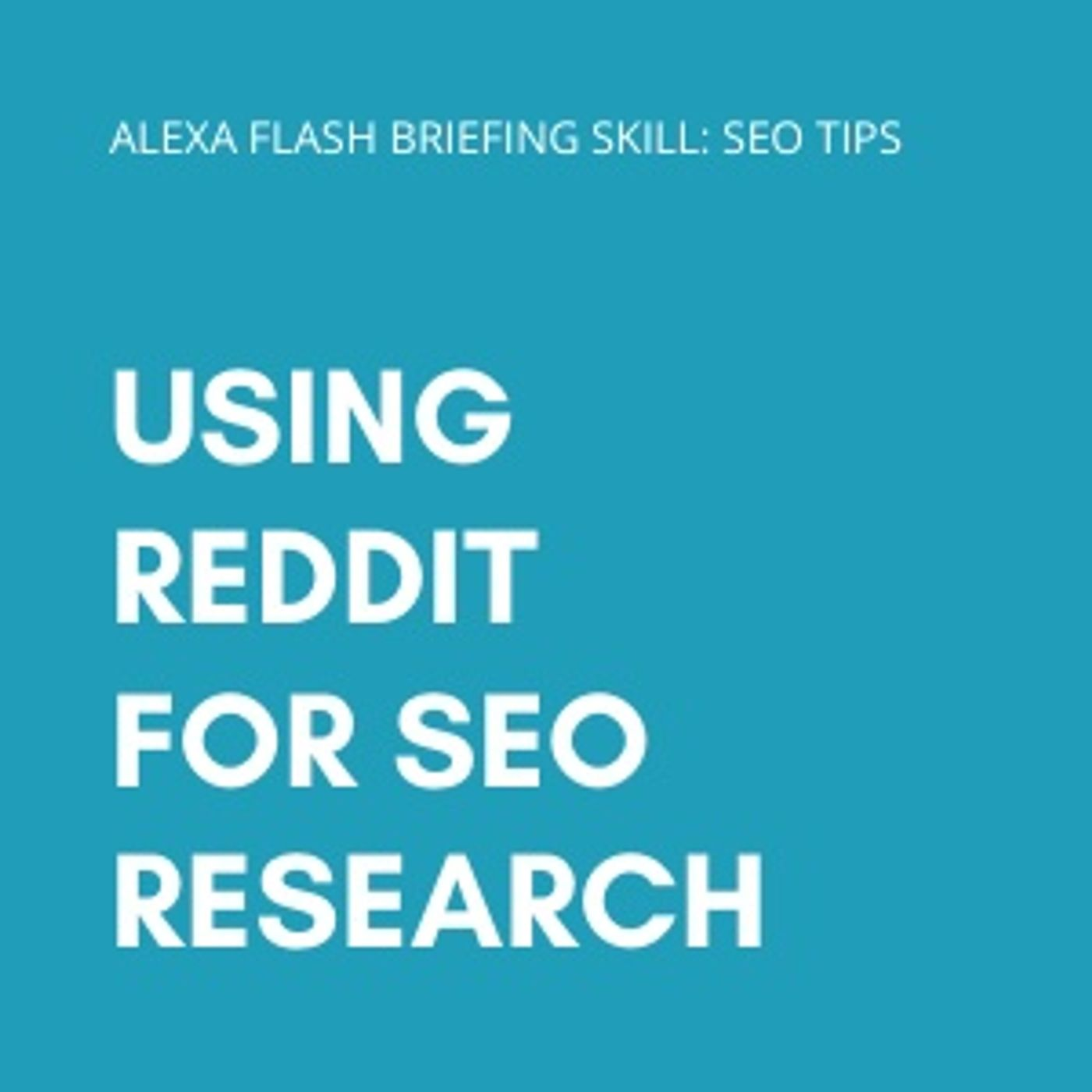 Using Reddit for SEO research