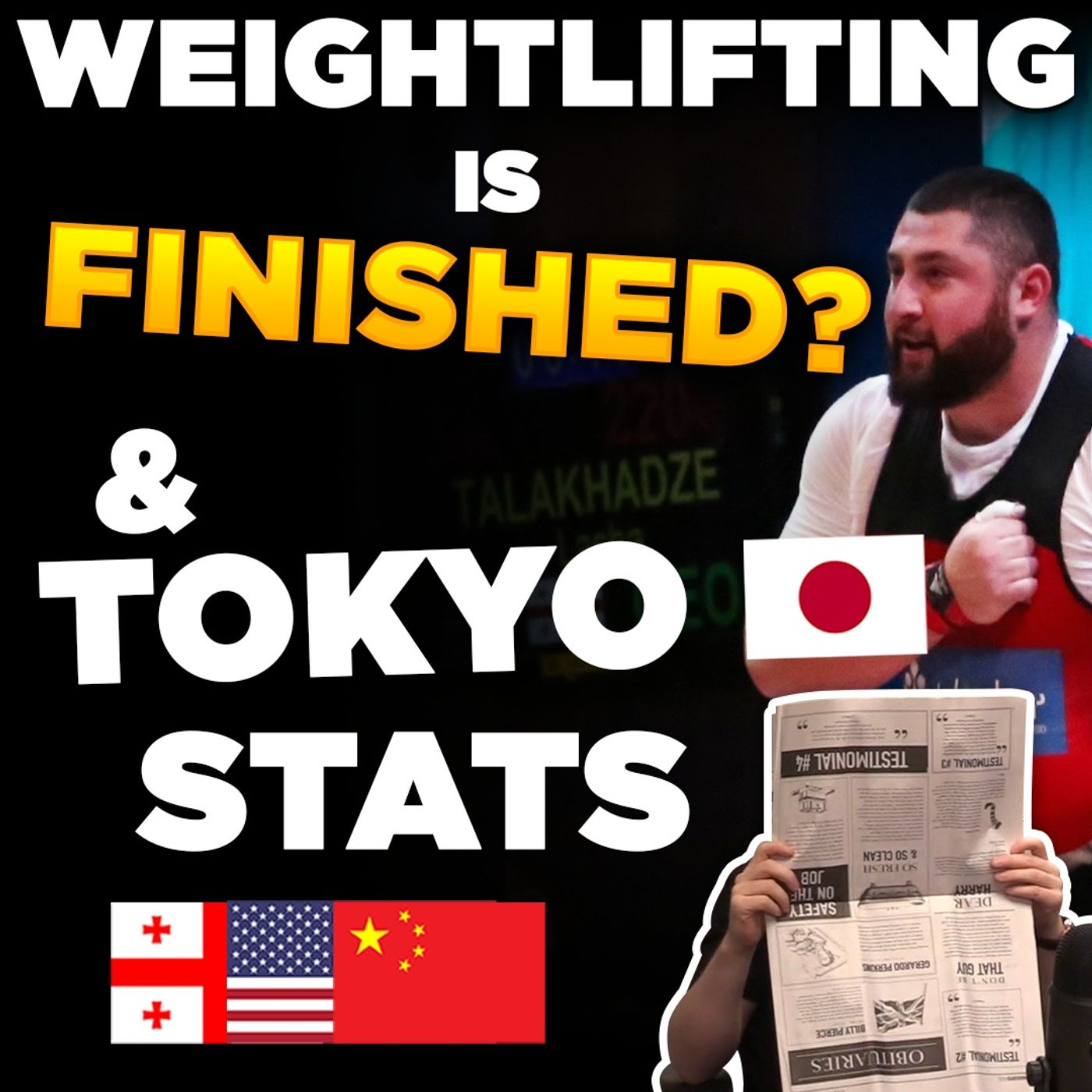 Unreleased Pre-Olympic Records, IWF vs IOC, 165kg Muscle Snatch? | WL News