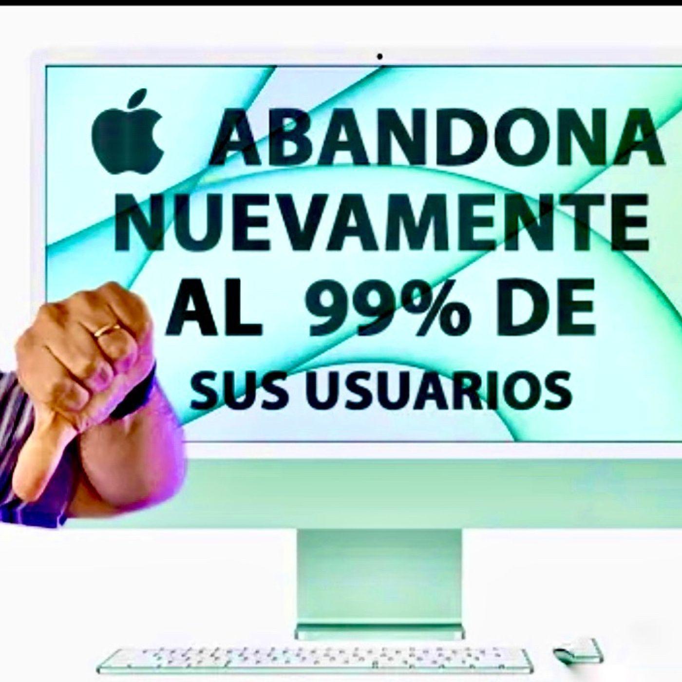 Apple nos ha vuelto a Defraudar