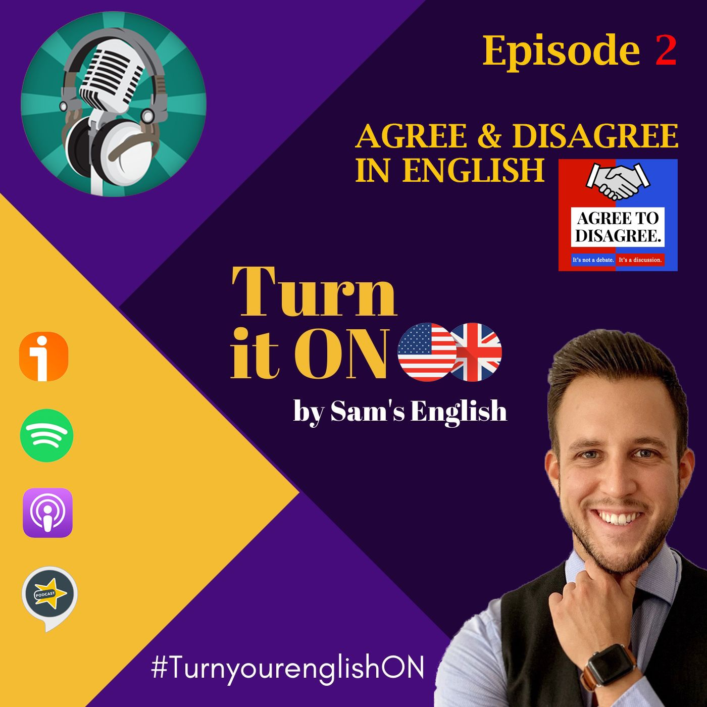 Episode # 2 Agree to disagree / How to agree and disagree in english