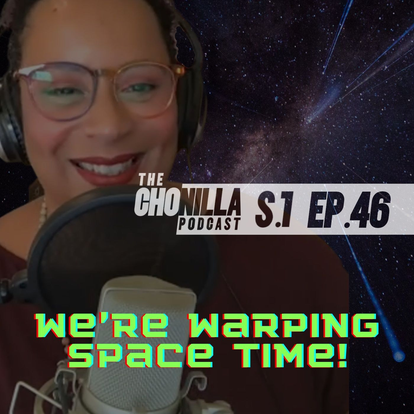 We're warping space-time!