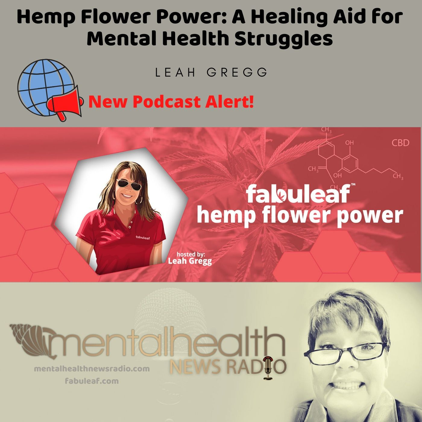 Mental Health News Radio - Hemp Flower Power: A Healing Aid for Mental Health Struggles