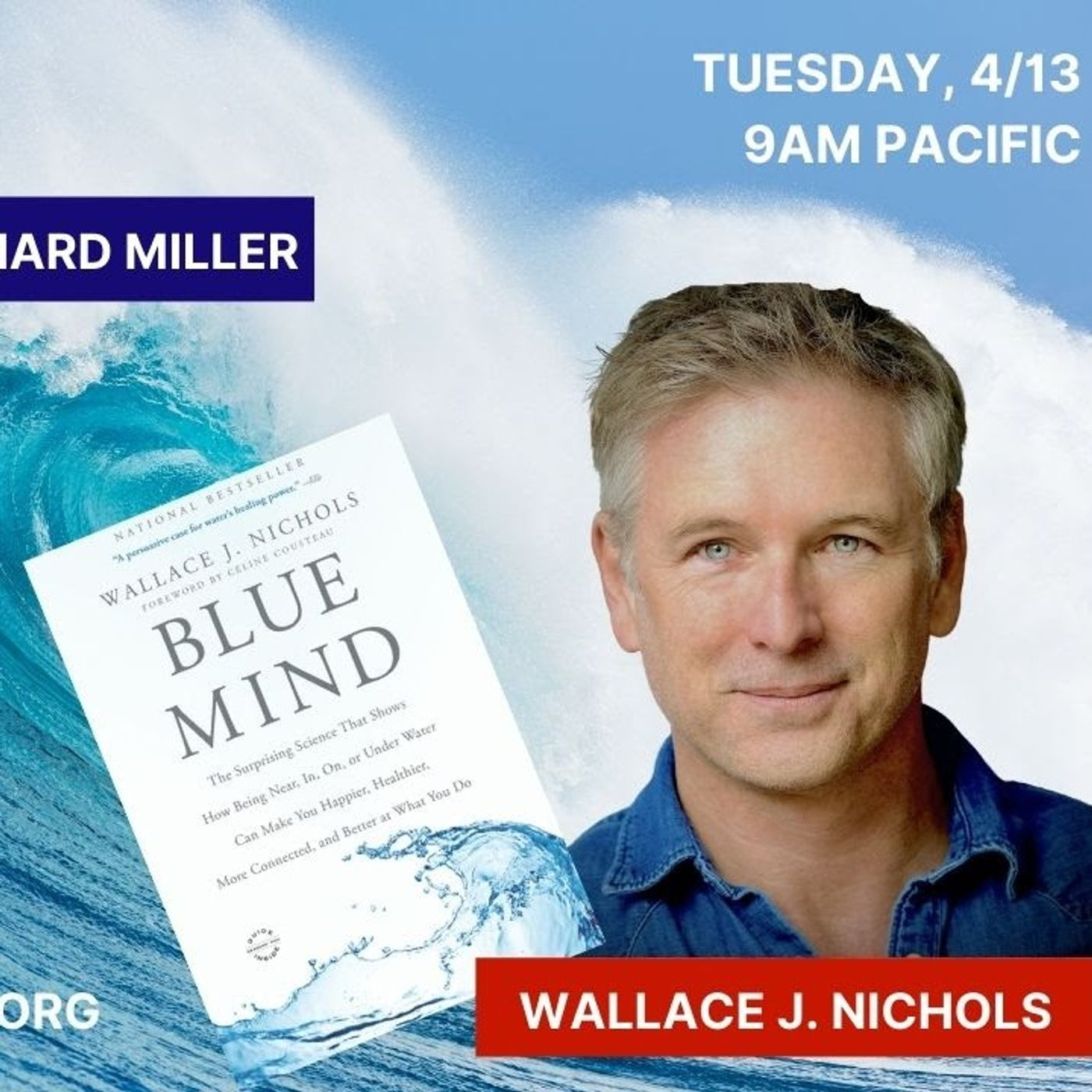 World's Foremost Water Healer: Dr. Wallace J. Nichols