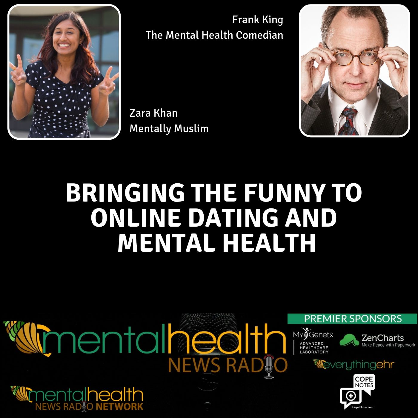 Mental Health News Radio - Bringing the Funny to Online Dating and Mental Health