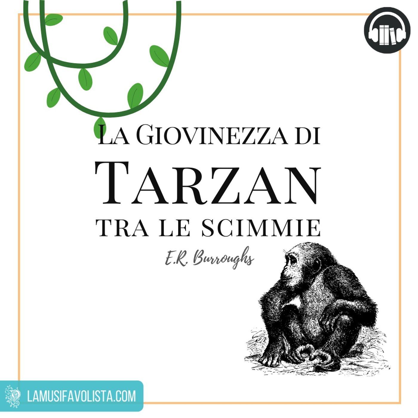 TARZAN • E.R. Burroughs  • Capitolo 1 ☆ Audiolibro ☆
