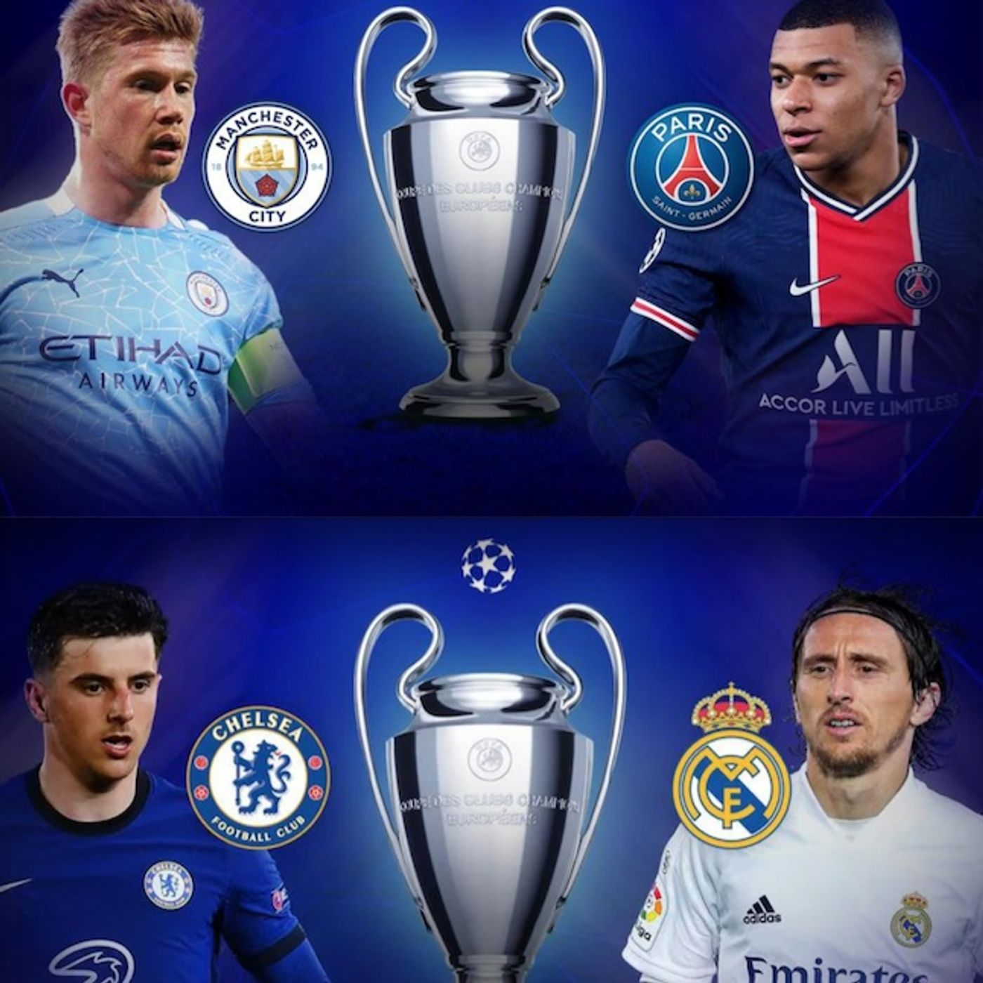 UEFA Champions League & Europa League Semi-finals: Betting Previews & Official Plays for the 2nd Legs (05/04 - 05/06)